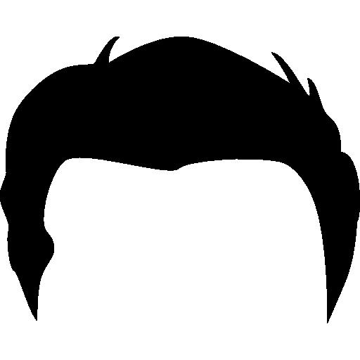 Male Short Hair Wig Shape