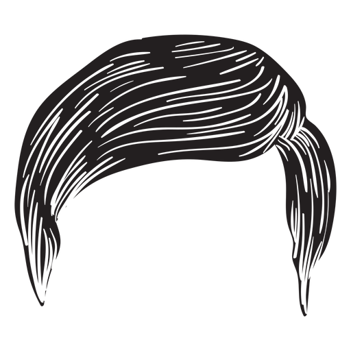 Regular Men Hair Icon
