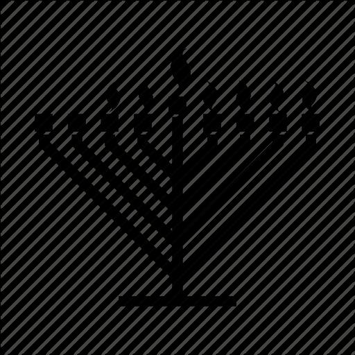 Candelabrum, Candles, Hanukkah, Hanukkiah, Jewish, Judaism