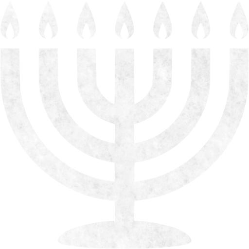 Snow Menorah Icon
