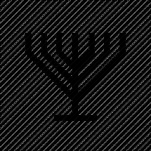 Candelabrum, Jewish, Judaica, Judaism, Menora, Menorah Icon