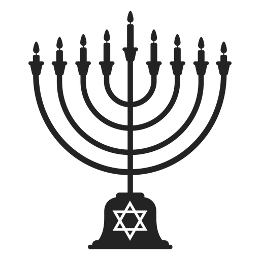 Hanukkah Menorah Icon