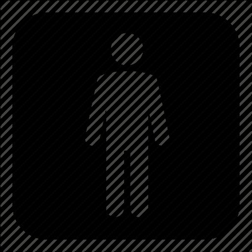 Man, Men, Restroom, Toilets, Wc Icon