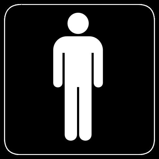 Men, Mens, Room, Toilet Icon