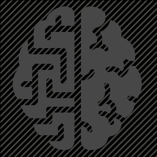 Brain, Complicate, Labyrinth, Maze, Mental, Mind, Psychology Icon