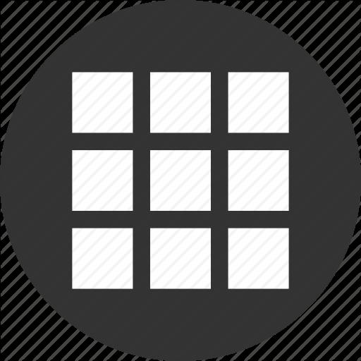 App, Apps, Circle, Circular, Grid, Items, List, Menu, Round, Shape