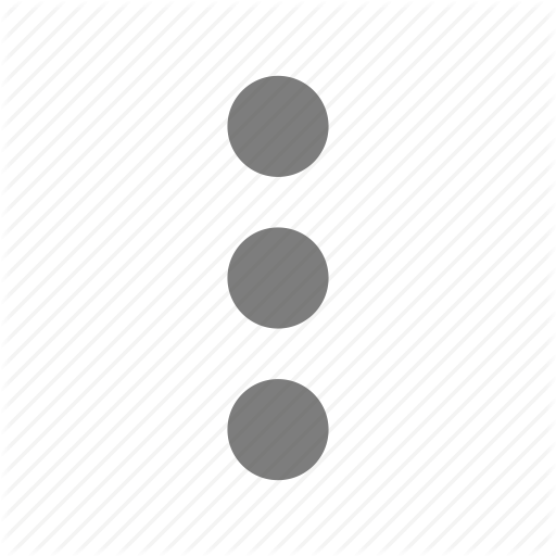 Dots, Line, Menu, More, Submenu Icon