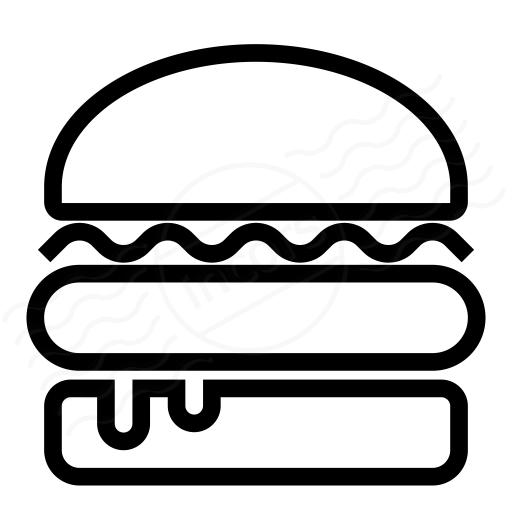 Burger Symbol
