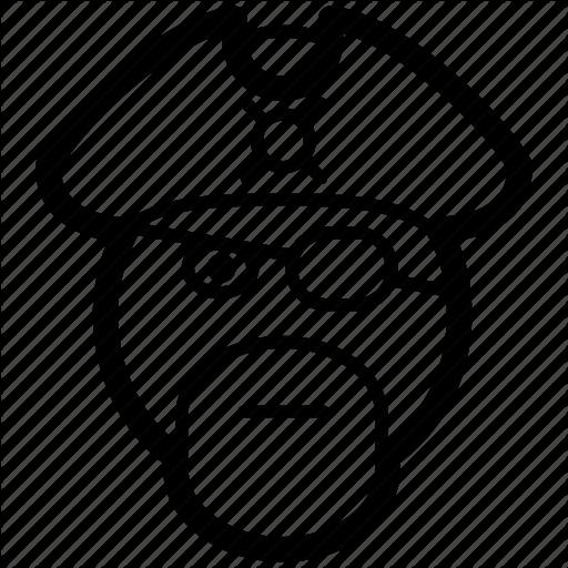 Emoji, Emoticon, Face, Mercenary, Pirate Icon