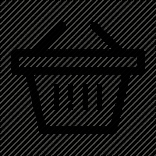 Basket, Business, Cart, Commerce, Merchandise, Payment, Present Icon