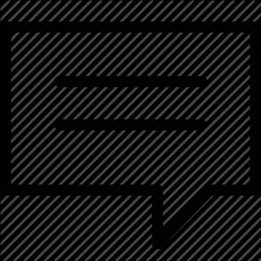 Bubble, Chat, Comment, Conversation, Discussion, Message Icon