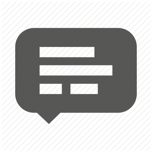 Alert, Bubble, Comment, Message, Notification, Sms Icon