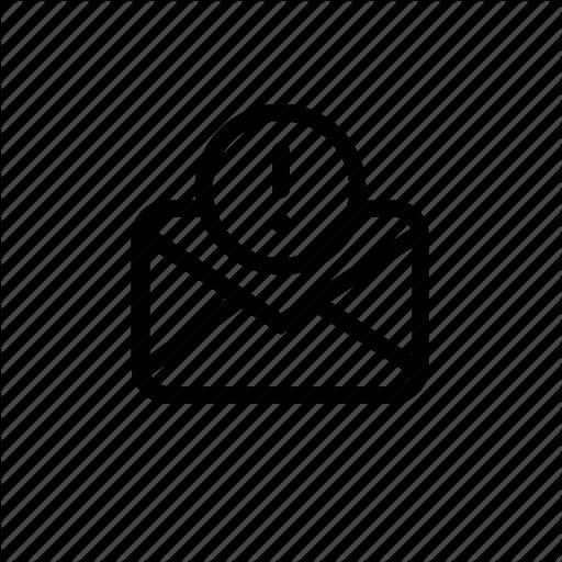 Alert, Envelop, Mail, Message, Notification Icon