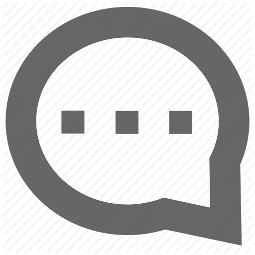 Bubble, Chat, Comment, Instant, Message, Notification, Typing Icon