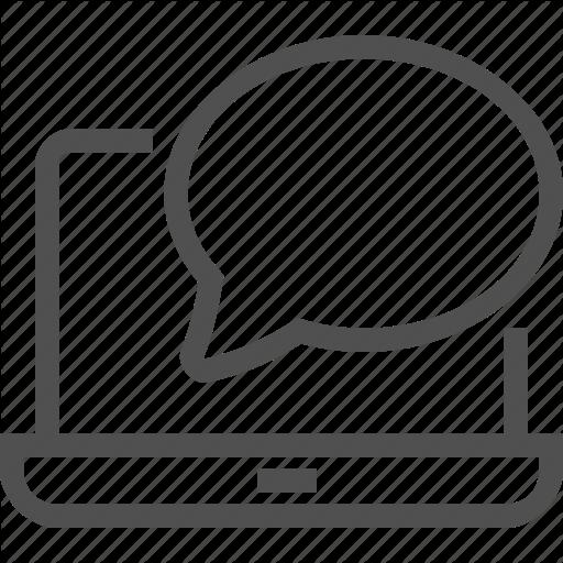 Bubble, Communication, Computer, Letter, Message, Notification Icon