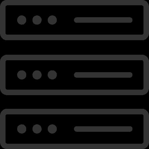 Servers, Rack Icon Free Of Themeisle Icons