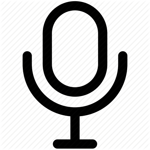 Mic, Microphone, Radio Mic, Studio Mic Icon Icon