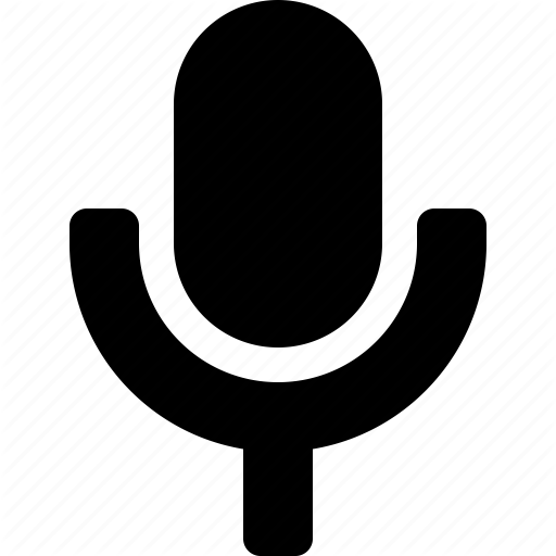 Mic, Microphone, Record Icon