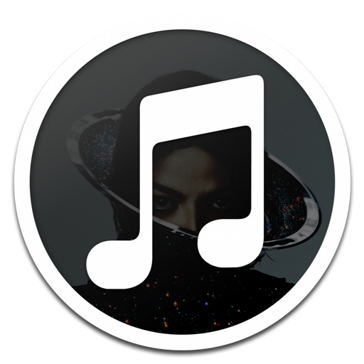 Itunes Black Michael Jackson Icon