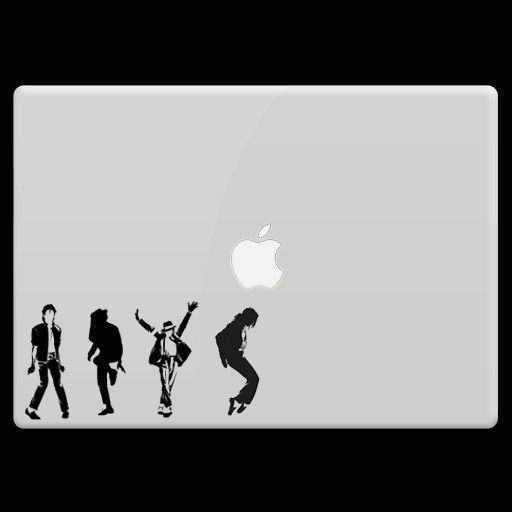 Michael Jackson Laptop Mini Sticker Set Michael Jackson
