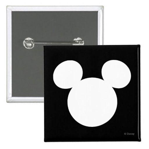 Disney Logo White Mickey Icon Button Disney Logo, Icons And Logos