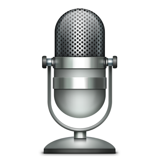 Cropped Microphone Icon