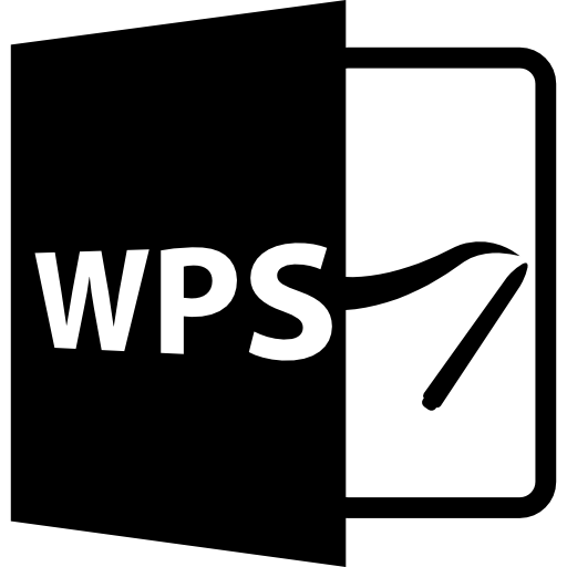 Wps Open Format Icons Free Download