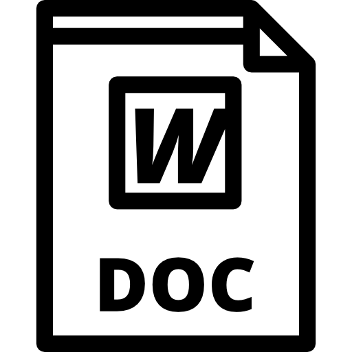 Word Document, Word Doc, Doc File, Doc Format