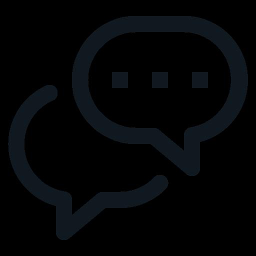 Balloon, Chat, Conversation, Speak, Word Icon Free Of Basic Ui