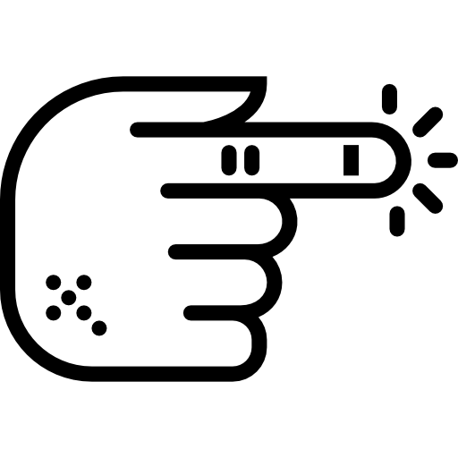 Finger Icon Medical Set Smashicons