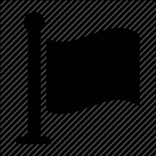 Deadline, Flag, Milestone Icon