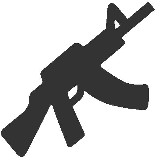 Military Rifle Icon