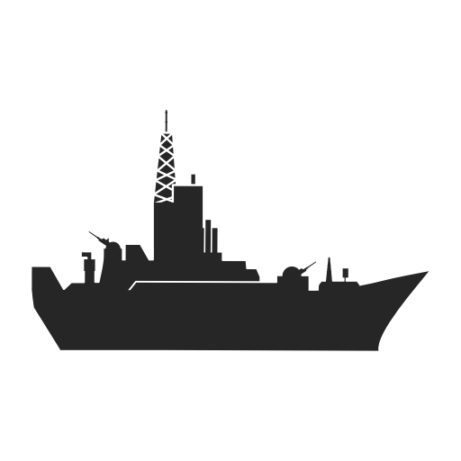 Luxury, Military, Ship, Watercraft Icon