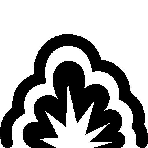 Military Smoke Explosion Icon Windows Iconset