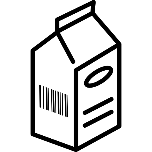 Fresh Milk Box Icons Free Download