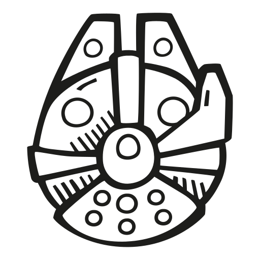 Millennium, Falcon Icon Free Of Space