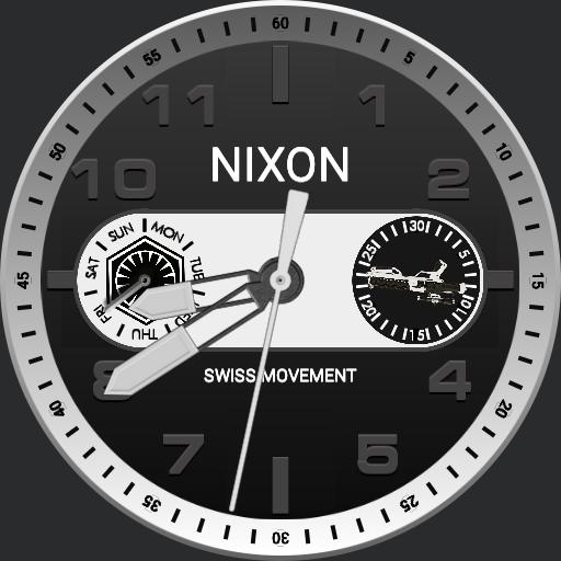 Star Wars Nixon Ranger Chrono Millenium Falcon Watchfaces