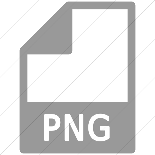 Simple Light Gray Mime Types Document Png Icon