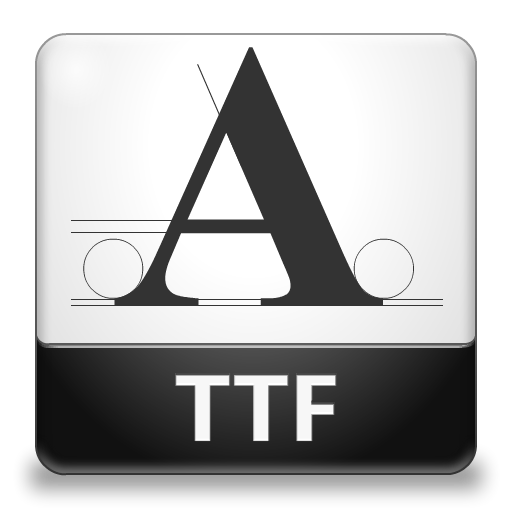 Collection Of Ttf Icons Free Download