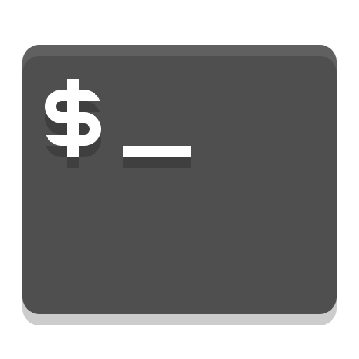 Utilities, Terminal Icon Free Of Papirus Apps