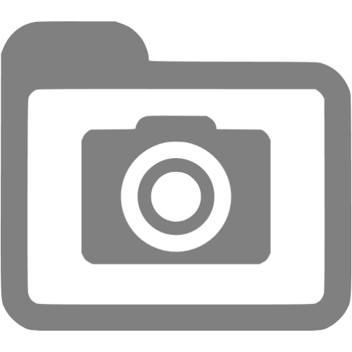 Gray Pictures Icon