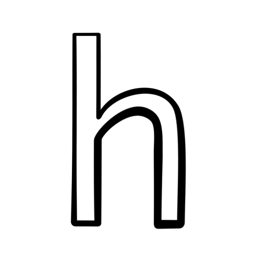 Letter H Icons