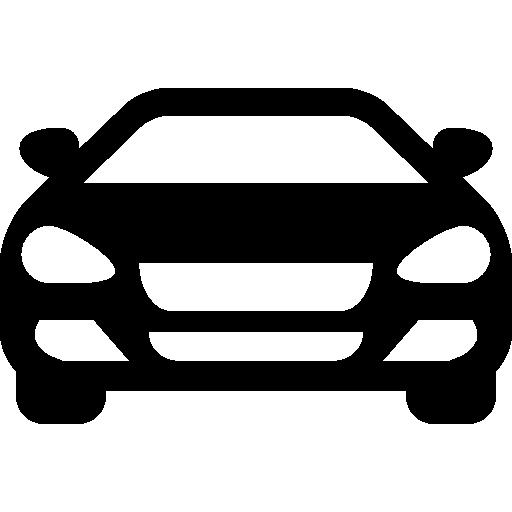 Sedan Car Front Icons Free Download