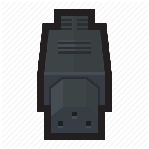 Cable, Connector, Plug, Power, Source Icon