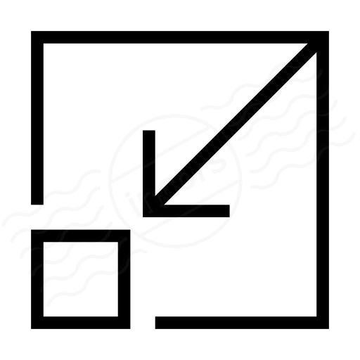 Iconexperience I Collection Minimize Icon