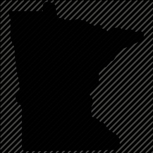 Map, Minnesota, Minnesota Map, Minnesota State Icon