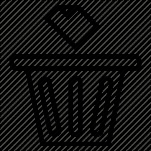 Bin, Delete, Garbage, Interface, Miscellaneous, Trash Icon