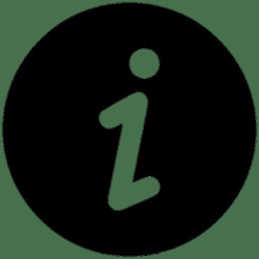 Information Round Service Icon
