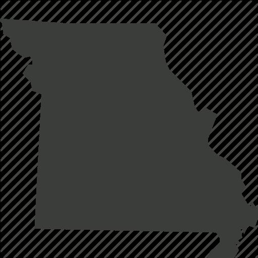 America, Location, Map, Missouri, State, Usa Icon
