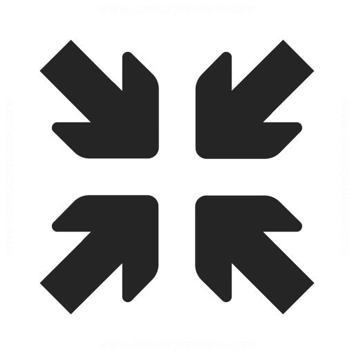Arrow Join Icon Iconexperience